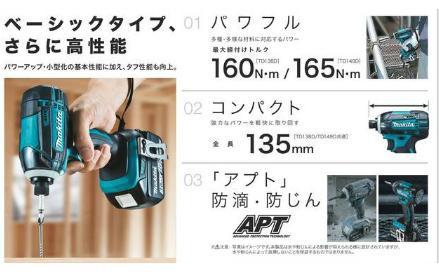 [税込新品]マキタ18V充電式インパクトドライバーT...