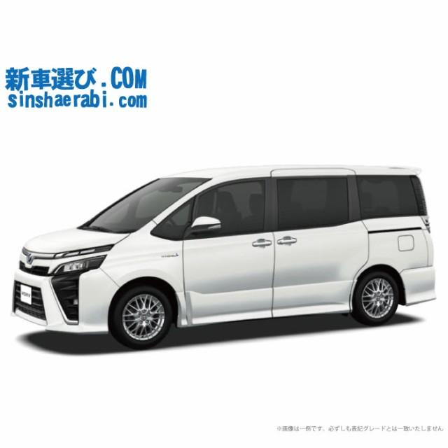 《新車 トヨタ ヴォクシー2WD 1800 HYBRID ZS 7人...