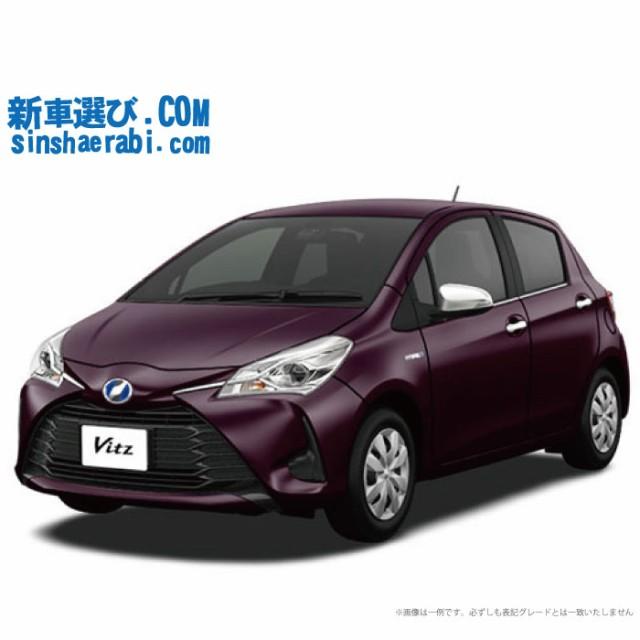 ☆月額 22,200円 楽乗りCAR  新車 トヨタ ヴィッ...