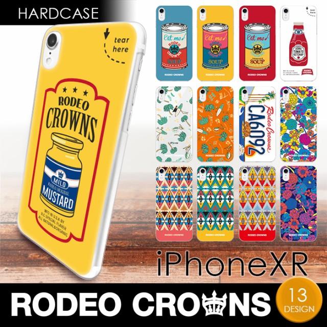 iPhoneXR (6.1インチ) 専用 RODEO CROWNS ハード...