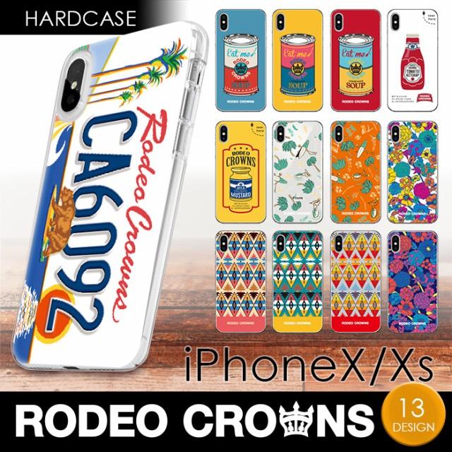 iPhoneXS iPhoneX 兼用 RODEO CROWNS ハードケー...