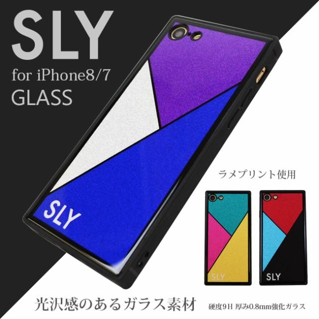 iPhone8 iPhone7 兼用 ケース ブランド SLY スラ...