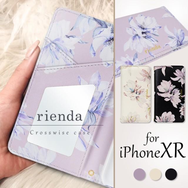 iPhoneXR (6.1インチ) 手帳型ケース ブランド rie...