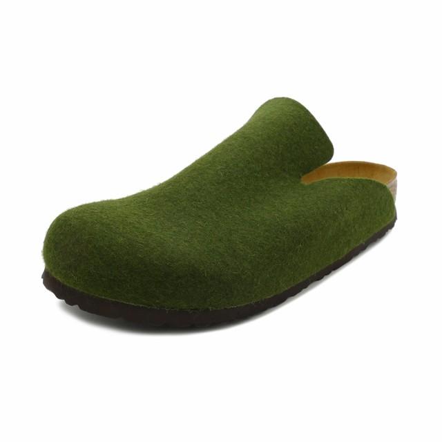 サンダル ビルケンシュトック BIRKENSTOCK ダボスウールフェルト オリーブ 幅広 メンズ レディース シューズ 靴 18FW
