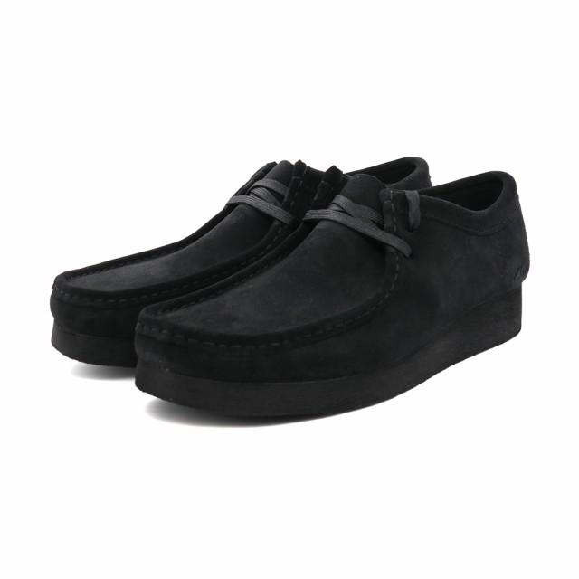 ブーツ クラークス Clarks ワラビー2 ブラックス...
