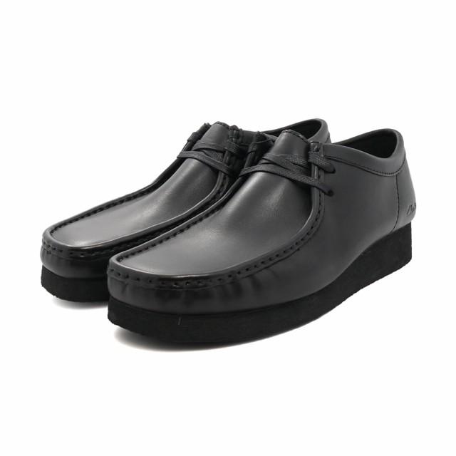 ブーツ クラークス Clarks メンズ ワラビー2 ブラ...