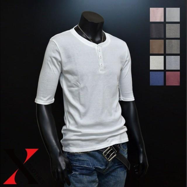 【全品送料無料】5分袖 Tシャツ 白Tシャツ メンズ...