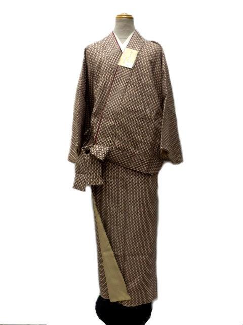 新作 丸洗いできる着物 帯のいらない着物 二部式 ...