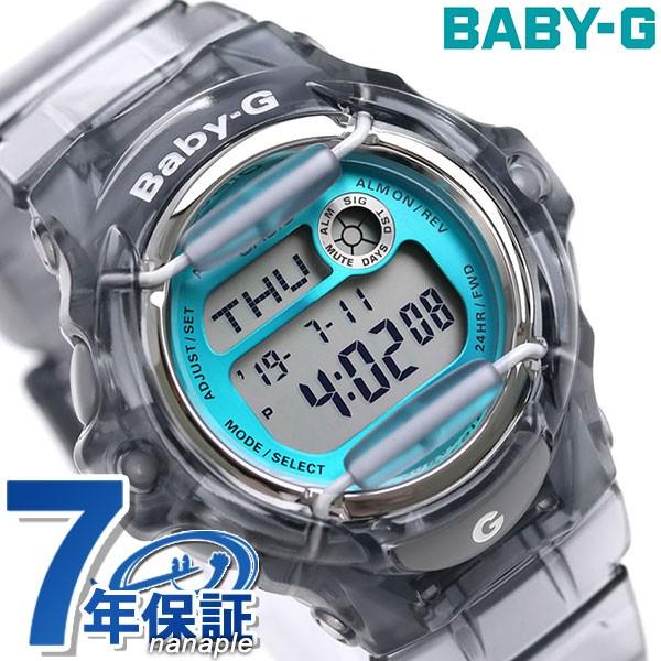 【あす着】Baby-G BG-169シリーズ クオーツ レディース 腕時計 BG-169R-8BDR カシオ ベビーG クリアブルー