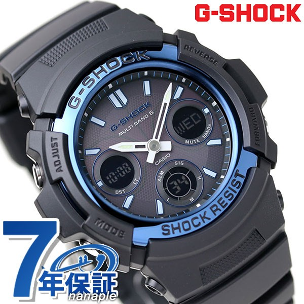 【あす着】G-SHOCK 電波ソーラー腕時計 メンズ ア...