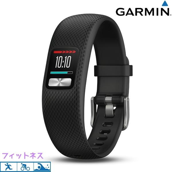 【あす着】ガーミン GARMIN vivofit4 Black L リ...