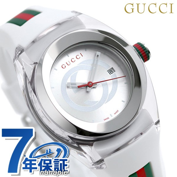 【あす着】グッチ 時計 シンク 36mm レディース ...