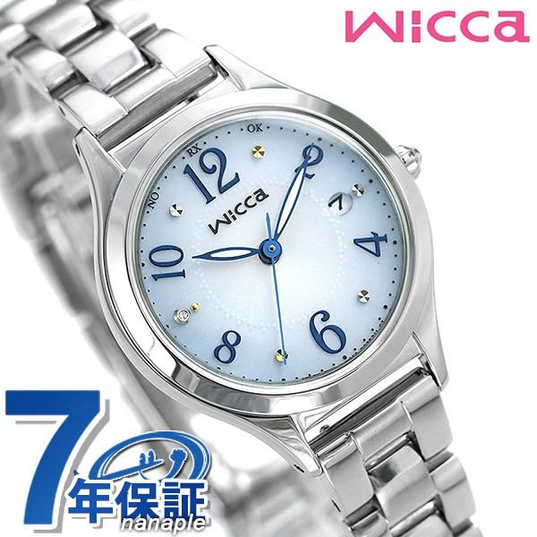 先着1,500円割引クーポン 31日10時まで! 【あす着】シチズン ウィッカ 電波ソーラー レディース 腕時計 ダイヤモンド