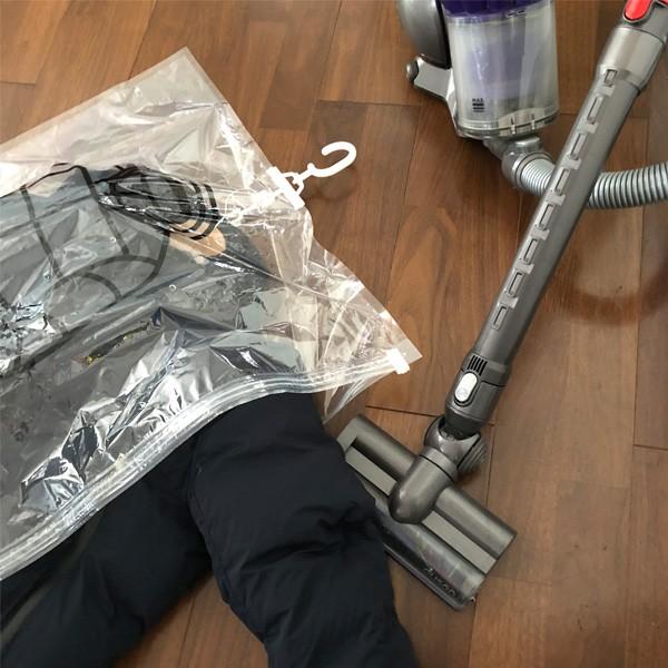 GENIAL ジェニアル ハンガー付き 衣類用圧縮袋 バ...