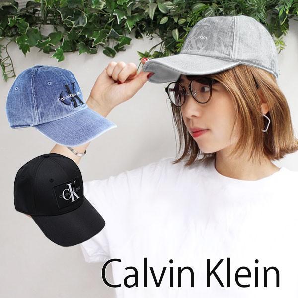 カルバンクライン 帽子 キャップ デニム Calvin K...