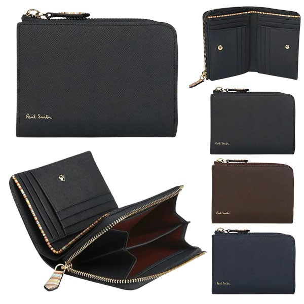 ポールスミス 財布 2つ折り財布 メンズ ジップス...
