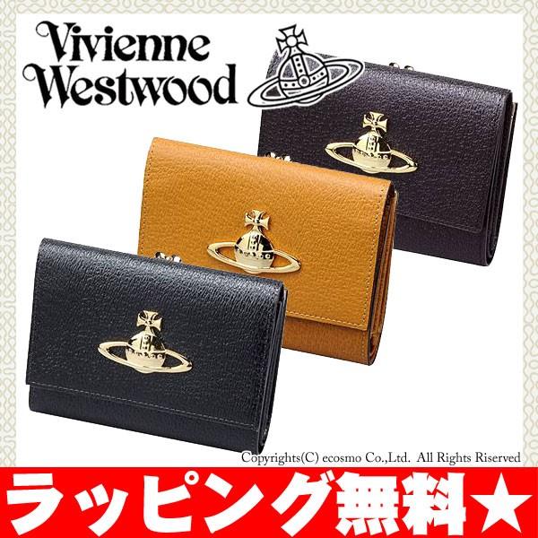 ヴィヴィアン ウエストウッド 財布 がま口 折り財...