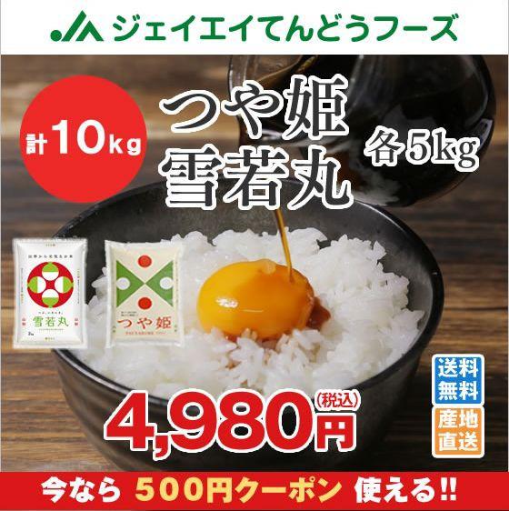 ●500円クーポン配布中● 山形県産 米 つや姫 雪...