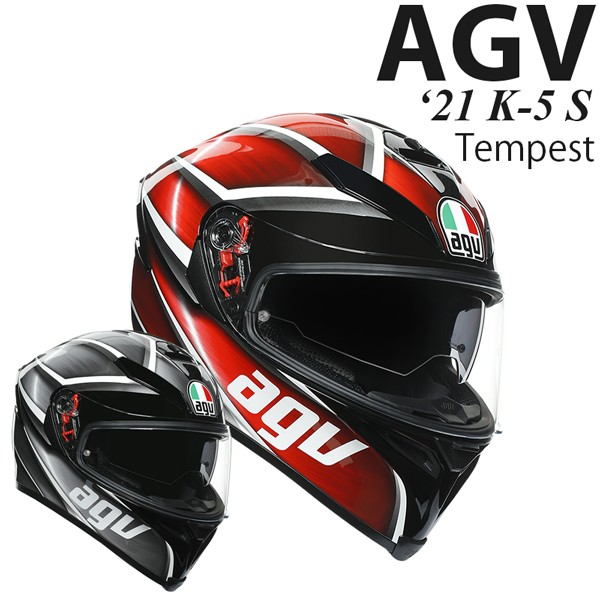 AGV ヘルメット K-5 S 2021年 最新モデル Tempest...