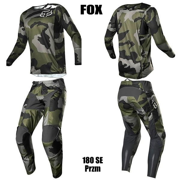 FOX 上下セット 特別版 180 2019年 モデル Przm