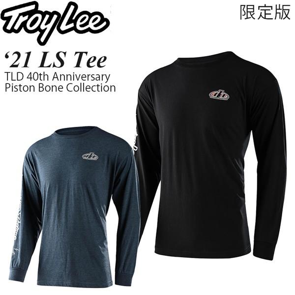 Troy Lee カジュアルシャツ 限定版 長袖 Piston B...