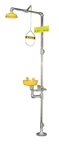 【日本エンコン】 緊急シャワー(洗眼器付) 502-07...