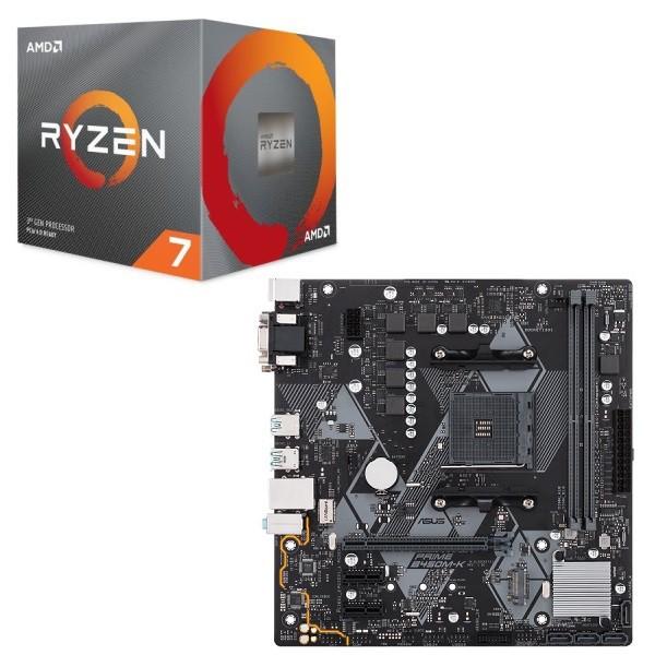 [パーツセット] AMD Ryzen 7 3700X BOX + ASUS PR...