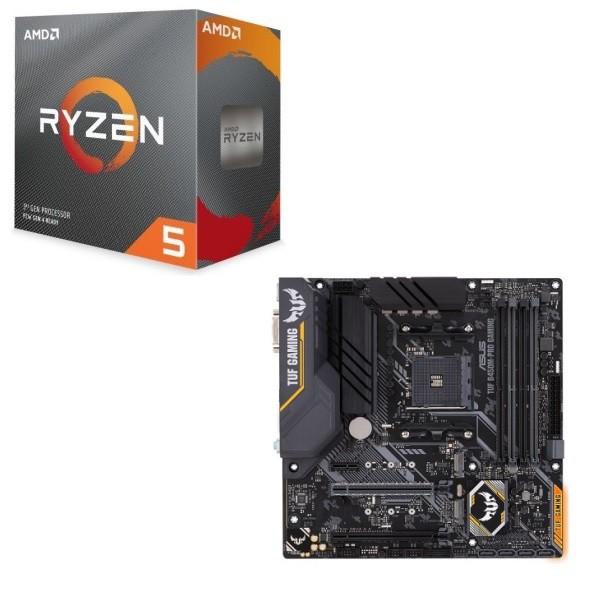 [パーツセット] AMD Ryzen 5 3500 BOX + ASUS TUF...