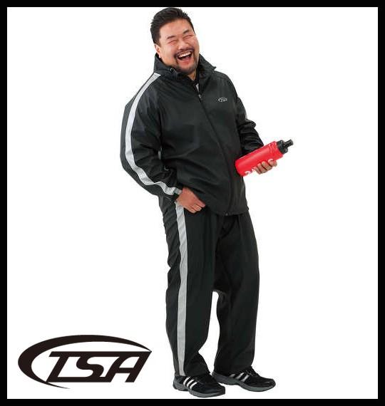 大きいサイズ TSA サウナスーツ ブラック 3L 4L 5...