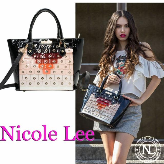 NICOLE LEE ニコールリー P11871 個性的 エナメル...