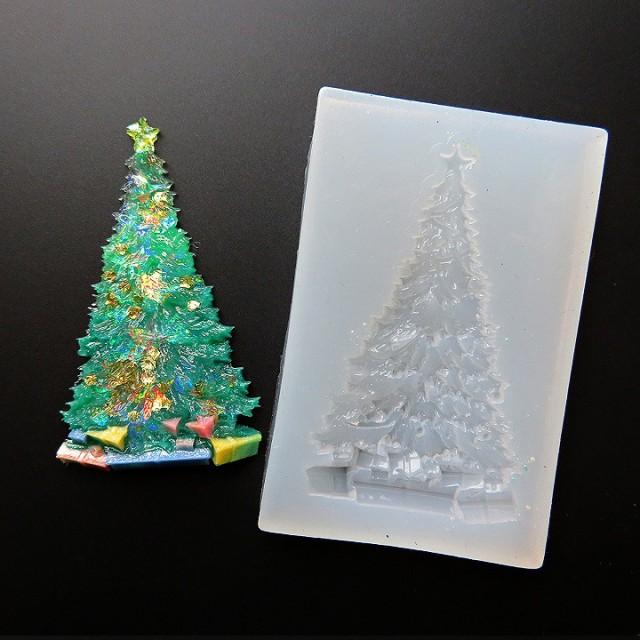 レジン モールド シリコン型 リアルなクリスマス...