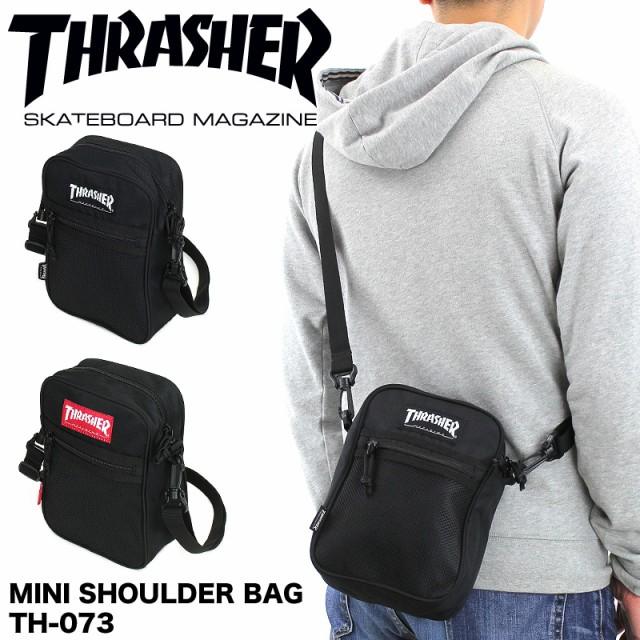 THRASHER(スラッシャー) ミニショルダーバッグ 斜...