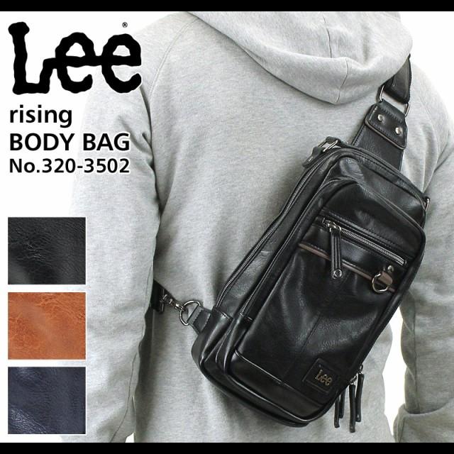 Lee(リー) rising(ライジング) ボディバッグ ワン...