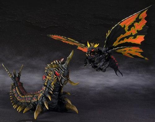 S.H.MonsterArts バトラ(成虫)&バトラ(幼虫) Spe...