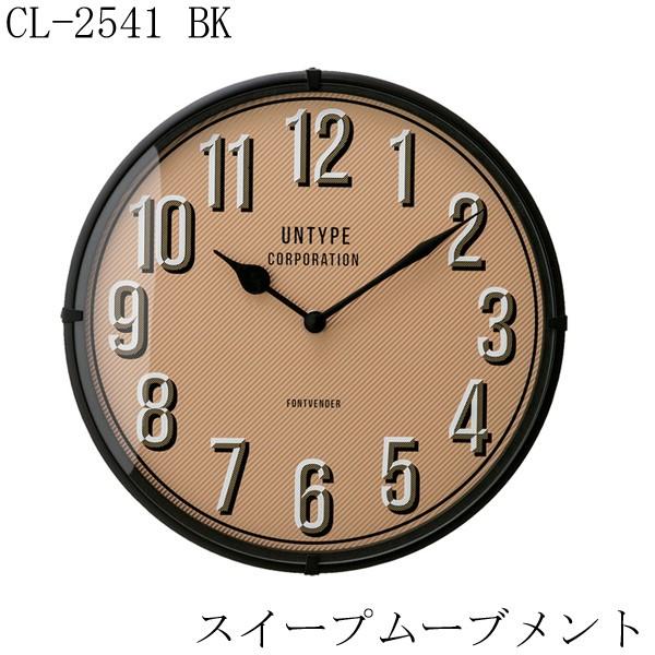 掛け時計 CL-2541 BK 2017SS インターフォルム 【...