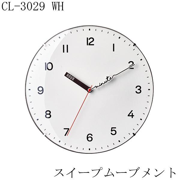 掛け時計 CL-3029 WH 2018SS インターフォルム 【...