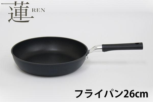 UMIC ウルシヤマ金属 蓮(REN) フライパン26cm テ...
