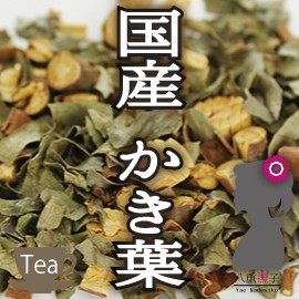 【ネコポス送料無料!】国産柿葉茶100g Cの力が...