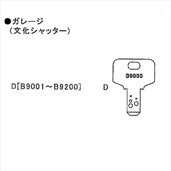 イナバ物置 物置用 スペアキー ガレージ(文化...