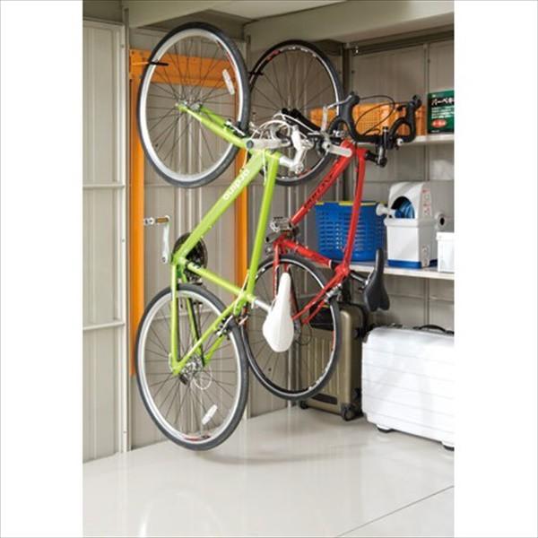 タクボ物置 オプション 自転車収納ラック 2台...