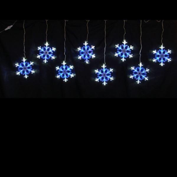 コロナ産業 LEDスノーフレークモチーフ スノー...
