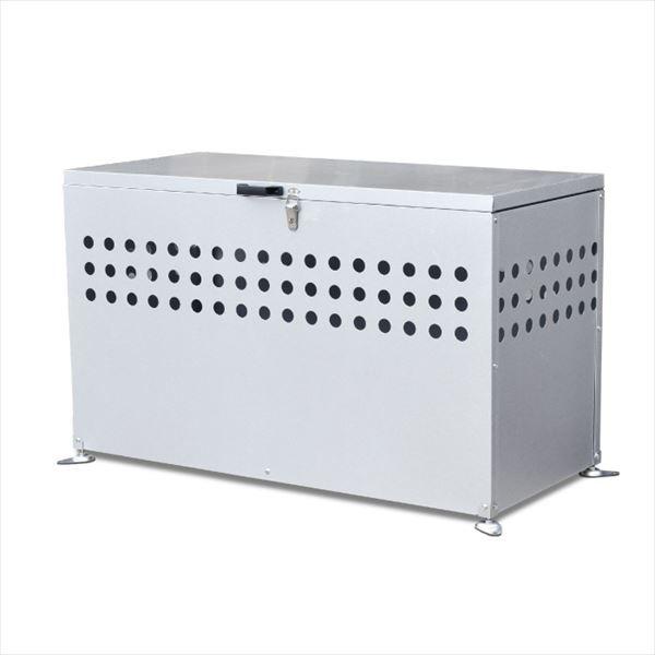 メタルテック ガルバ鋼板製 ふた付 ダストボック...