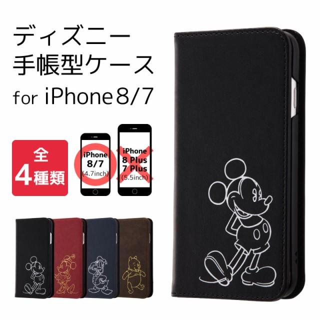 [ディズニー iPhone8 iPhone7 ホットスタンプ 手...