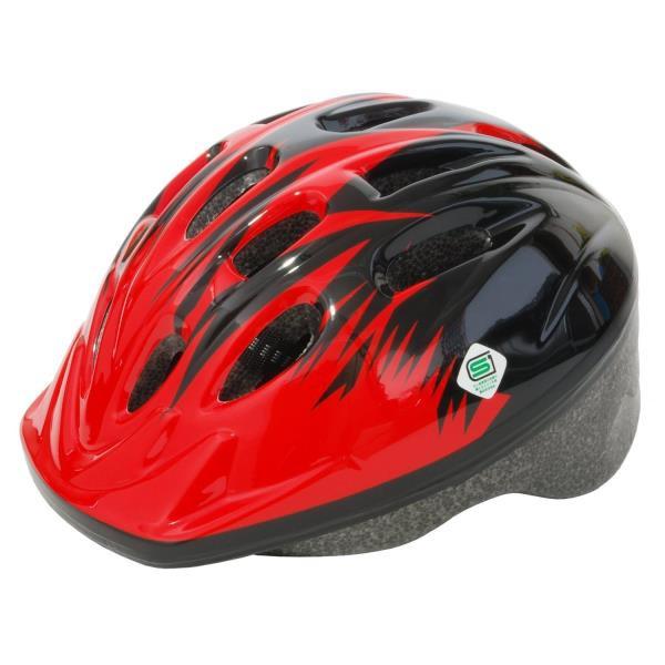 パルミー キッズヘルメット・SG(P-MV12) レッド...