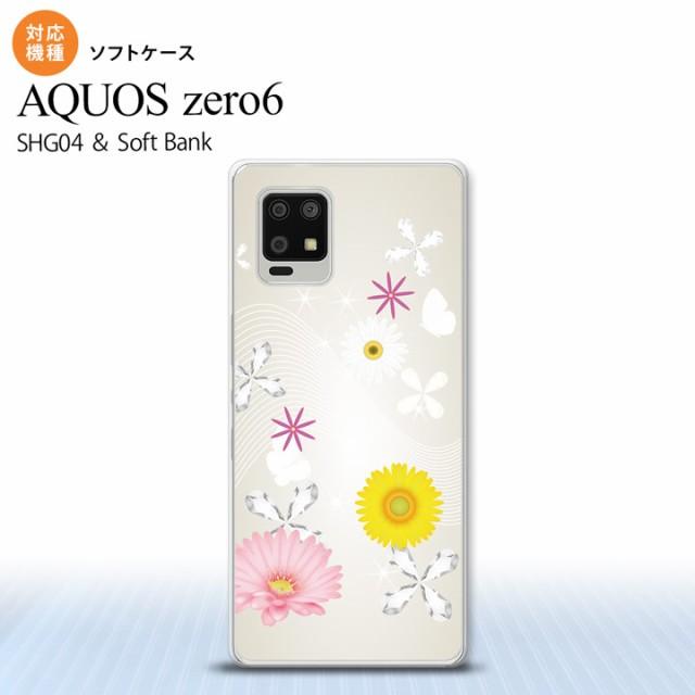 SHG04 AQUOS zero6 ケース ソフトケース 花柄 ミ...