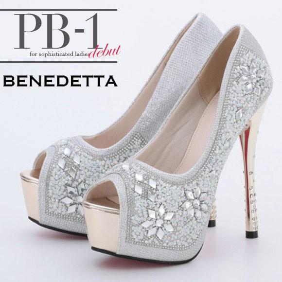 PB-1 SELECT シューズ系(靴)【シルバー】[3393]...