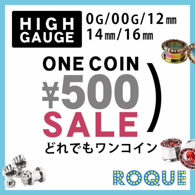 ホール プラグ トンネル ワンコイン500円 ボディ...