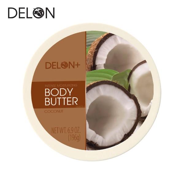 DELON デロン ボディバター ココナッツ 196g (ボ...