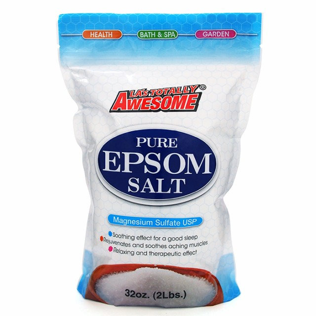 LA's Totally Awesome Pure Epsom Salt ピュアエ...