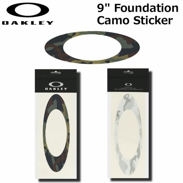 OAKLEY オークリー ステッカー 9 Foundation Camo...